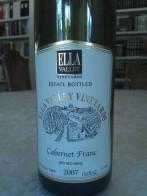 2007 Ella Valley Cabernet Franc