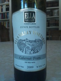 2009 Ella Valley Cabernet Franc