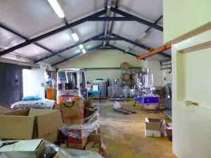 Tulip Winery Crushing room