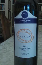 2012 Teperberg Sauvignon Blanc, Terra 2
