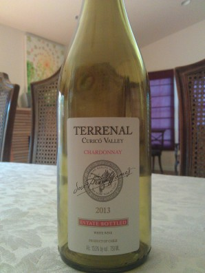 2013 Terrenal Chardonnay, Chile