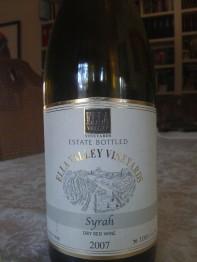 2007 Ella Valley Syrah
