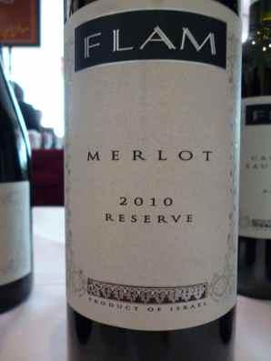 2010 Flam Merlot, Reserve