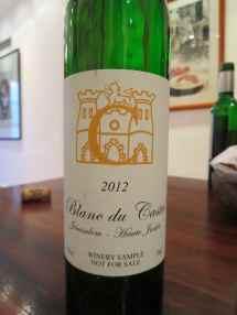 2012 Blanc du Castel 'C'