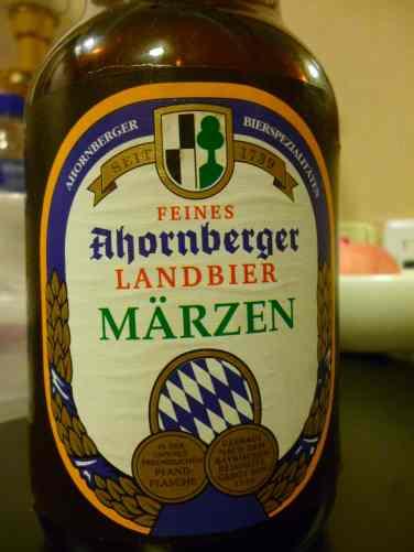 Ahornberger Marzen Landbier - close up