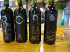 Psagot red wines