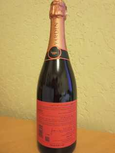 2008 Yarden Rose Brut 2 - back label