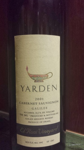 2001 Yarden El Rom Cabernet Sauvignon