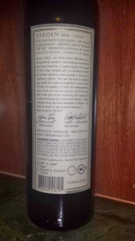 2007 Yarden ROM - back label