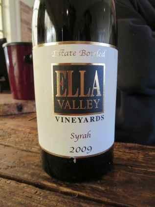 2009 Ella Valley Syrah