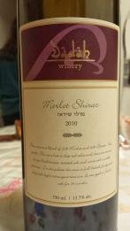 2010 Dadah Merlot Shiraz