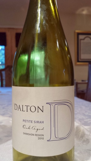 2010 Dalton Petite Sirah