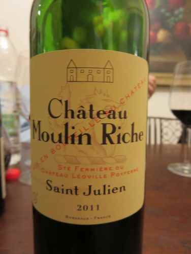 2011 Chateau Moulin Riche, Saint Julein