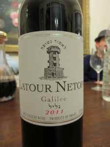 2011 Domain Netofa Latour Red