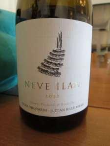 2012 Tzora Neve Ilan Chardonnay