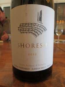 2012 Tzora Shoresh White Suavignon Blanc