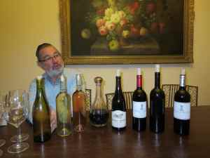 Pierre and his Netofa wines