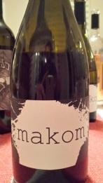 2012 Makom Pinot Noir