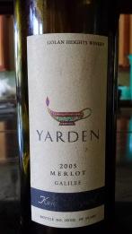 2005 Yarden Merlot, Kela