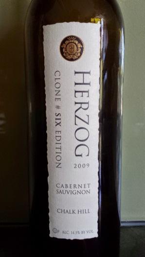 2009 Herzog Cabernet Sauvignon, Clone Six, Chalk Hill