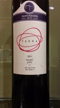 2011 Teperberg Malbec, Terra
