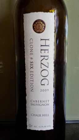 2009 Herzog Cabernet Sauvignon, Clone Six, Special Edition