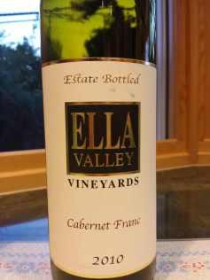 2010 Ella Valley Cabernet Franc
