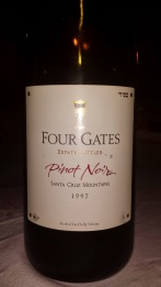 1997 Four Gates Pinot Noir