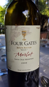 2008 Four Gates Merlot M.S.C.