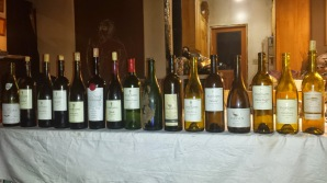All the wines for the shabbat