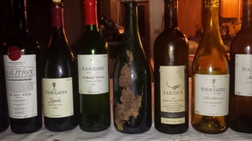 Close up of the wines - 2