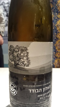 2010 Gush Eztion White Riesling