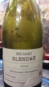 2013 Recanati White Blend #3