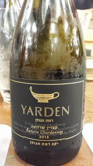 2013 Yarden Chardonnay, Katzrin