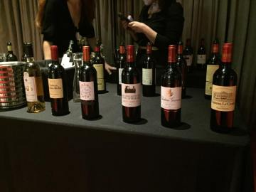 French wine table at KFWE LA
