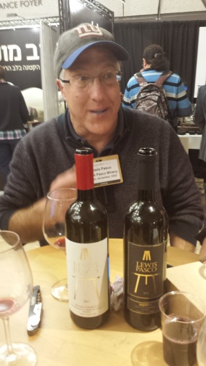 Lewis Pasco and his new wines