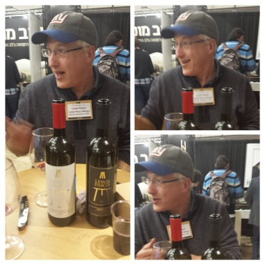 Lewis Pasco and his wines