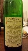 1976 Carmel Cabernet Sauvignon, Special Reserve - bl