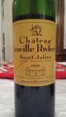 2002 Chateau Leoville Poyferre