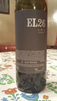 2008 Elvi Wines EL26 - bl