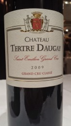 2009 Chateau Tertre Daugay, Saint Emilion, Grand Cru