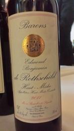 2011 Barons Edmond Benjamin de Rothschild, Haut Medoc