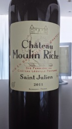 2011 Chateau Moulin Riche, Saint Julien