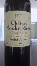 2011 Chateau Moulin Riche, Saint Julien
