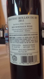 2011 Chateau Rollan de By, Medoc - bl