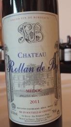 2011 Chateau Rollan de By, Medoc