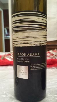 2011 Tabor Merlot, Adama