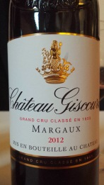 2012 Chateau Giscours, Margaux
