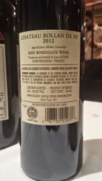 2012 Chateau Rollan de By, Medoc - bl