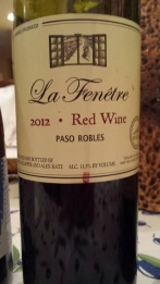 2012 La Fenetre Red Blend